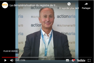Jean-Michel Errera Actionaria 2019